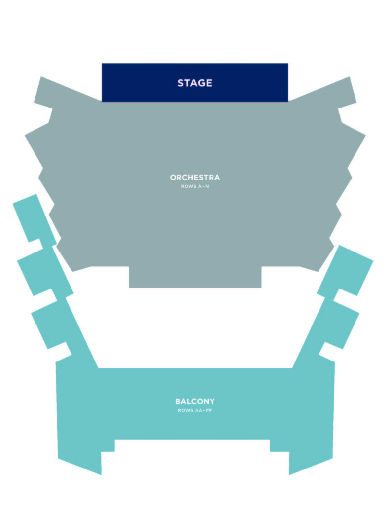 Seating Charts - Kupferberg Center for the Arts   Queens College on bayside queens ny map, queens west map, queens ny neighborhood street map, queens new york city neighborhood map, college point new york map, college point queens map,